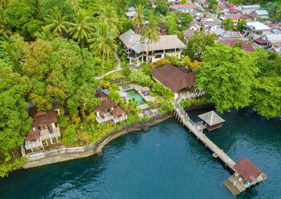 Solitude-Lembeh-Resort-Aerial